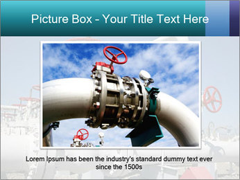Oil and gas processing plant PowerPoint Template - Slide 16