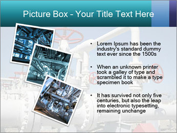 Oil and gas processing plant PowerPoint Template - Slide 17