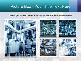Oil and gas processing plant PowerPoint Template - Slide 19
