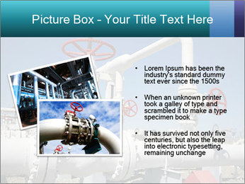 Oil and gas processing plant PowerPoint Template - Slide 20
