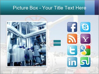 Oil and gas processing plant PowerPoint Template - Slide 21