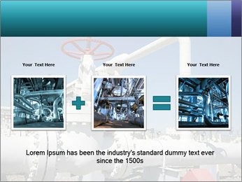 Oil and gas processing plant PowerPoint Template - Slide 22