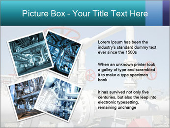 Oil and gas processing plant PowerPoint Template - Slide 23