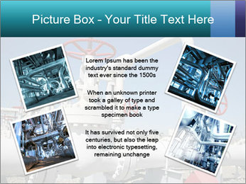Oil and gas processing plant PowerPoint Template - Slide 24
