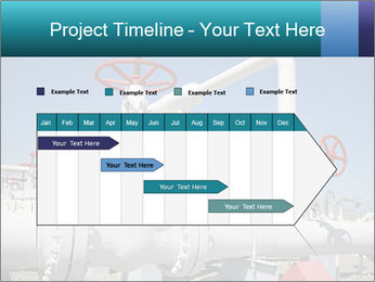 Oil and gas processing plant PowerPoint Template - Slide 25