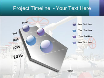 Oil and gas processing plant PowerPoint Template - Slide 26