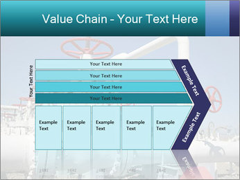 Oil and gas processing plant PowerPoint Template - Slide 27