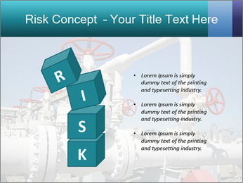 Oil and gas processing plant PowerPoint Template - Slide 81