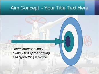 Oil and gas processing plant PowerPoint Template - Slide 83