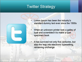 Oil and gas processing plant PowerPoint Template - Slide 9