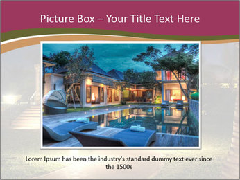 Gazebo at Night PowerPoint Template - Slide 16