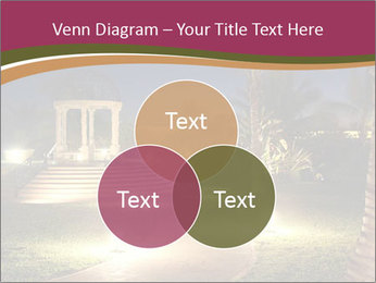 Gazebo at Night PowerPoint Template - Slide 33