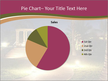 Gazebo at Night PowerPoint Template - Slide 36