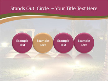 Gazebo at Night PowerPoint Template - Slide 76