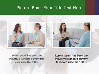 Therapist listening to patient PowerPoint Template - Slide 18