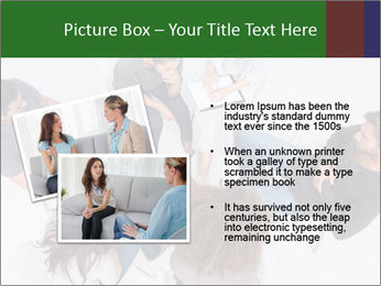 Therapist listening to patient PowerPoint Template - Slide 20