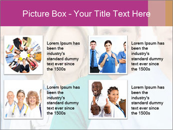 Group Of Happy Successful Doctors PowerPoint Template - Slide 14