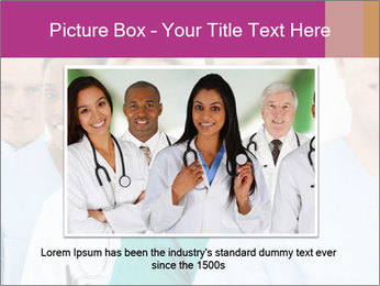Group Of Happy Successful Doctors PowerPoint Template - Slide 15
