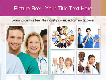 Group Of Happy Successful Doctors PowerPoint Template - Slide 19