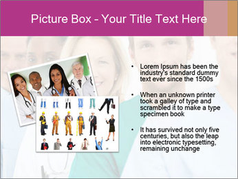 Group Of Happy Successful Doctors PowerPoint Template - Slide 20