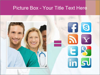 Group Of Happy Successful Doctors PowerPoint Template - Slide 21