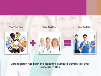 Group Of Happy Successful Doctors PowerPoint Template - Slide 22