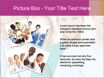 Group Of Happy Successful Doctors PowerPoint Template - Slide 23