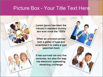 Group Of Happy Successful Doctors PowerPoint Template - Slide 24