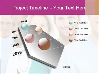 Group Of Happy Successful Doctors PowerPoint Template - Slide 26