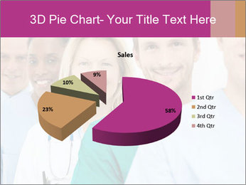 Group Of Happy Successful Doctors PowerPoint Template - Slide 35