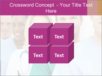 Group Of Happy Successful Doctors PowerPoint Template - Slide 39