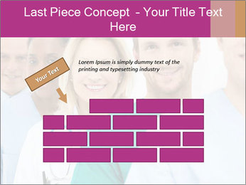 Group Of Happy Successful Doctors PowerPoint Template - Slide 46
