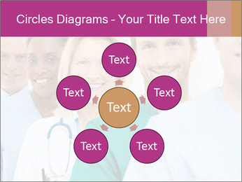 Group Of Happy Successful Doctors PowerPoint Template - Slide 78