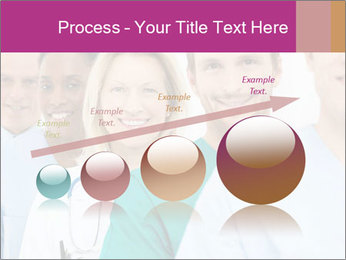 Group Of Happy Successful Doctors PowerPoint Template - Slide 87
