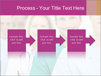 Group Of Happy Successful Doctors PowerPoint Template - Slide 88