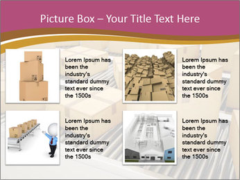 Packages are being sorted PowerPoint Template - Slide 14
