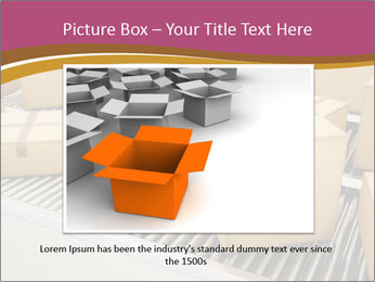 Packages are being sorted PowerPoint Template - Slide 16