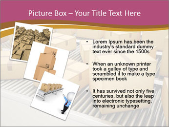 Packages are being sorted PowerPoint Template - Slide 17