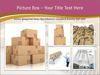 Packages are being sorted PowerPoint Template - Slide 19