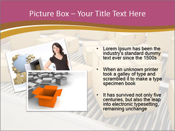 Packages are being sorted PowerPoint Template - Slide 20
