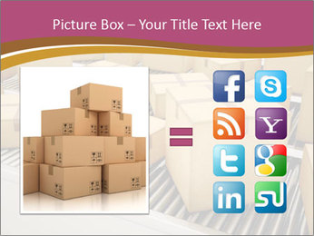 Packages are being sorted PowerPoint Template - Slide 21