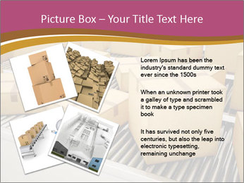 Packages are being sorted PowerPoint Template - Slide 23