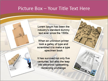 Packages are being sorted PowerPoint Template - Slide 24
