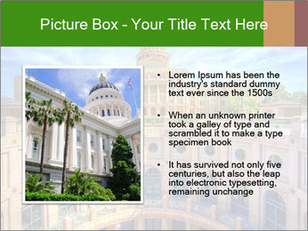 Texas State Capitol Building PowerPoint Template - Slide 13