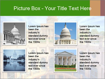 Texas State Capitol Building PowerPoint Template - Slide 14
