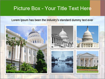 Texas State Capitol Building PowerPoint Template - Slide 19