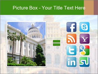 Texas State Capitol Building PowerPoint Template - Slide 21