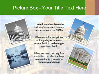 Texas State Capitol Building PowerPoint Template - Slide 24