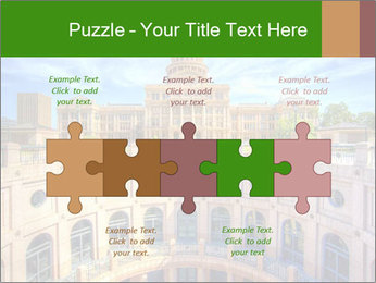 Texas State Capitol Building PowerPoint Template - Slide 41
