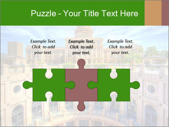 Texas State Capitol Building PowerPoint Template - Slide 42